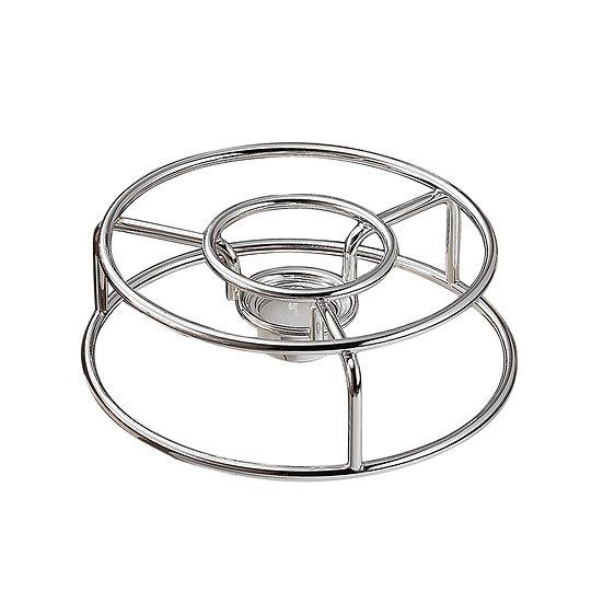 Silver plated rechaud (round)