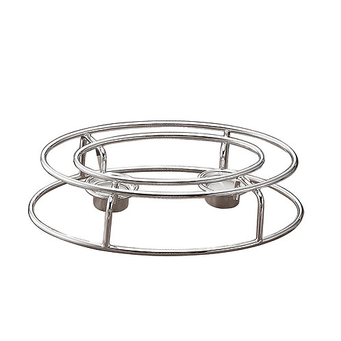 Silver plated rechaud (oval)