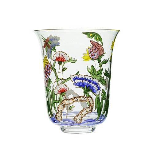 Tumbler Chinese Handpainted flowers