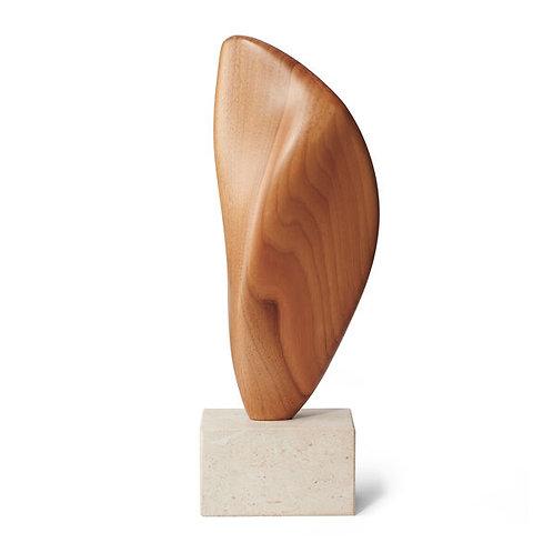 Walnut Abstract Statue
