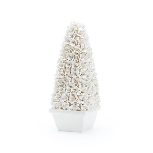 Boxwood Topiary Mayfair White