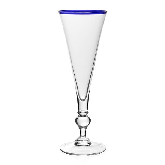 Champagne Flute Blue