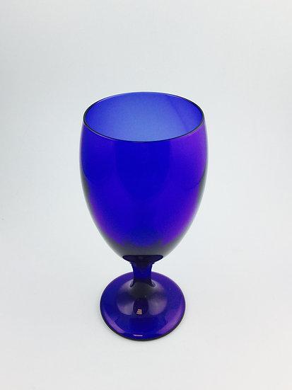 Glass Blue Cobalt Tall (Set of 2 pieces )