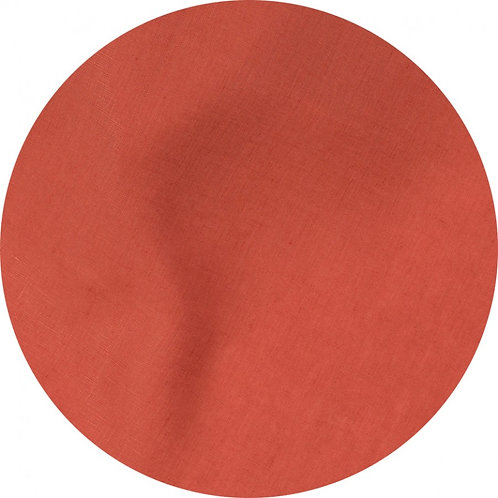 Round Linen Tablecloth & 8 Napkins