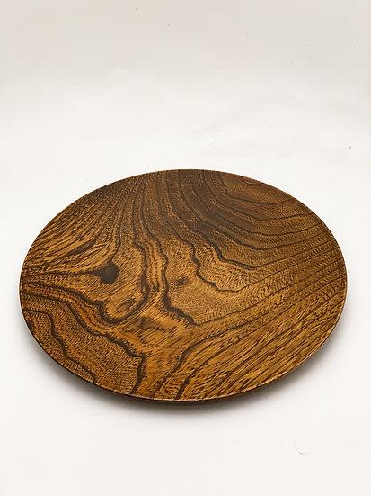 Japanese Wood Plate