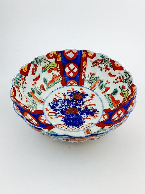 Imari Antique  Porcelain Bowl, Early 19th Century