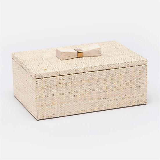 Natural Raffia Box