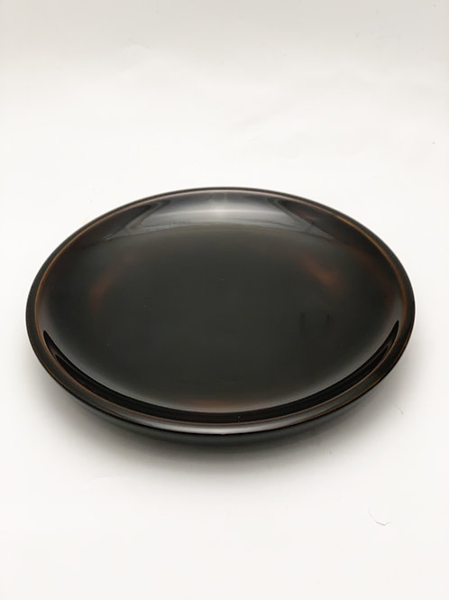 Japanese Lacquer Wood Plate
