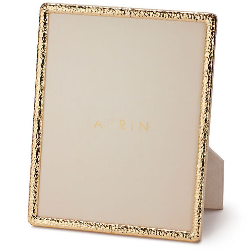 Frame in golden brass