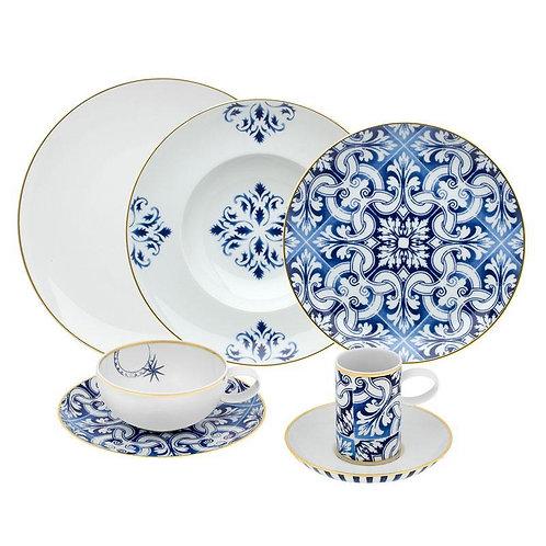 "Dinnerware  ""Transatlântica"" (set for 8  persons)"