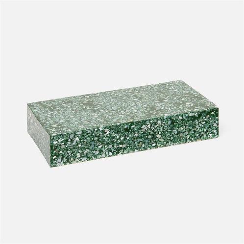 Green Shell & Kabibe Resin Box