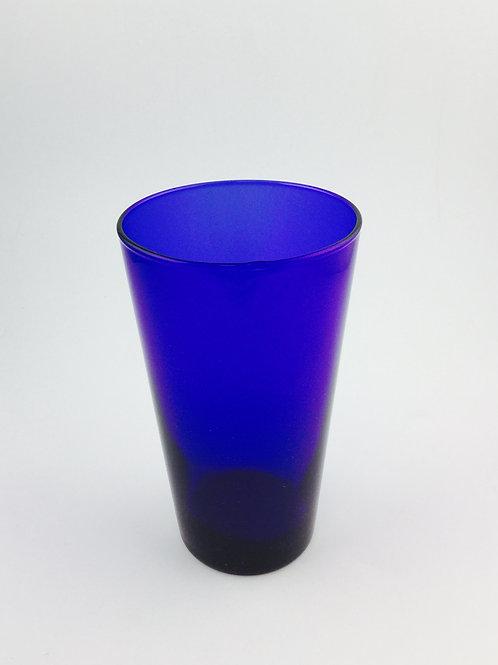 Glass Soda Blue Cobalt (Set of 2 pieces)