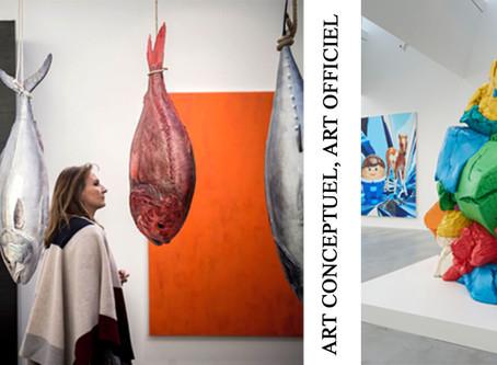 FRANCE: La cause d'un déclassement du marché de l'Art Contemporain