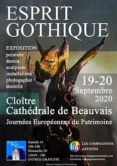 """Exposition """"Esprit Gothique"""" Beauvais"""