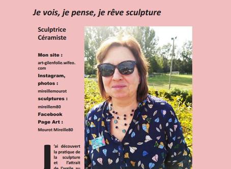 Mireille Mourot - Sculptrice Céramiste