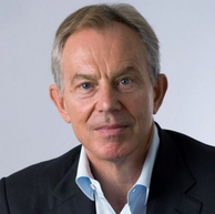 Rt Hon Tony Blair,  Executive Chairman of the Tony Blair Institute for Global Change