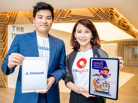 SCB Abacus joins forces with Fastwork to boost liquidity and self-dependence among freelancers
