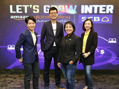 SCB joins forces with Amazon, embarking Thai SMEs on global adventures with cross border e-commerce