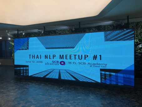 SCB Abacus hosts the Thai NLP Meetup #1