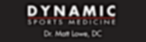 Dynamic Sports Medicine Sponsorship-Bann