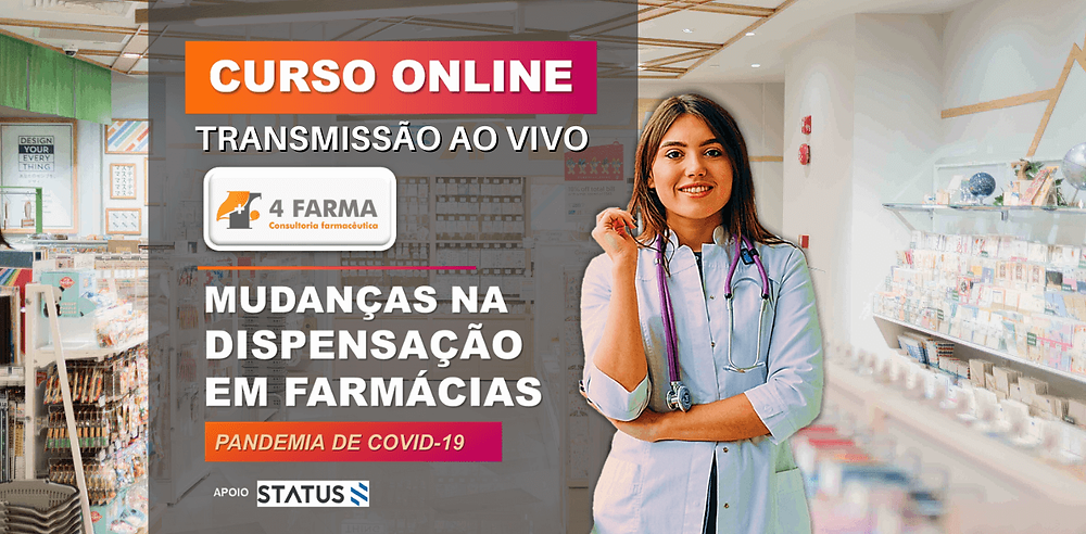 4Farma Consultoria - CURSO ONLINE: MUDANÇAS NA DISPENSA