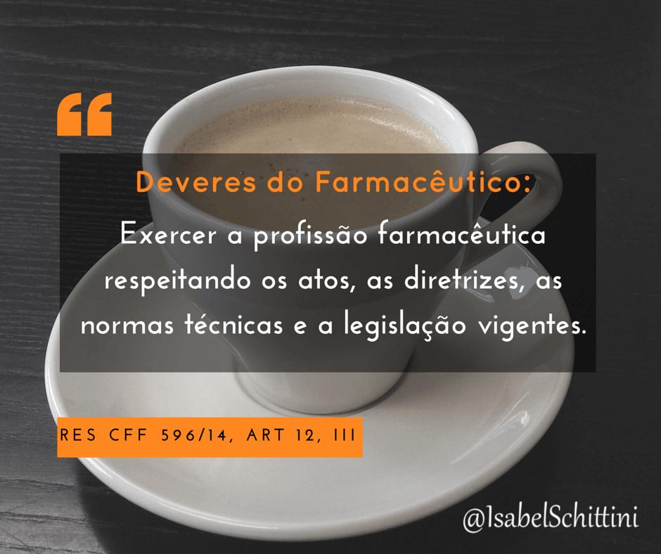 Isabel-Schittini-4Farma-blog-Código de Ética Farmacêutica-Deveres-Inciso-III