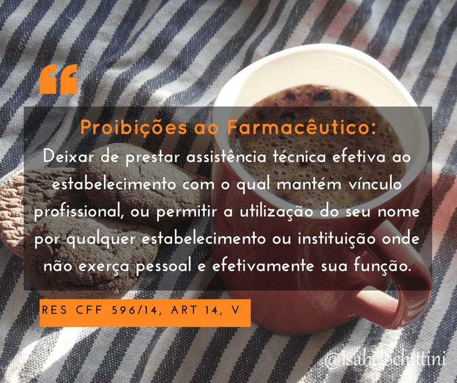 Isabel-schittini-4farma-blog-Código de Ética Farmacêutica-Proibições-Inciso-V