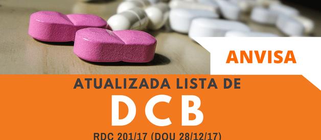 Lista de DCB Atualizada