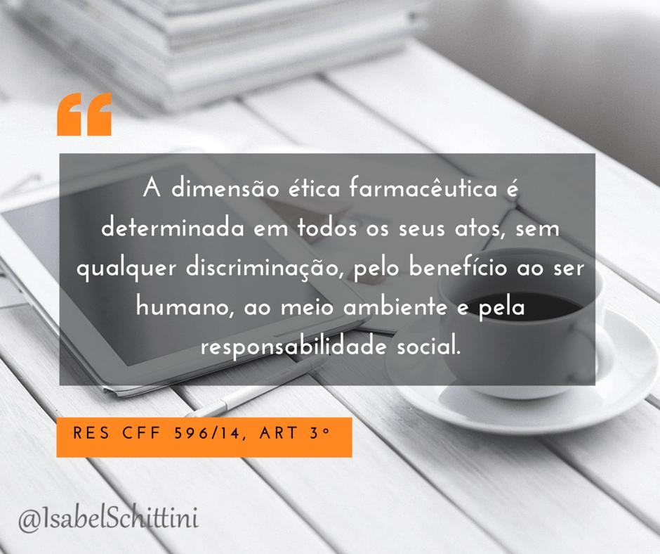 Isabel-Schittini-4Farma-blog-Código de Ética Farmacêutica-Artigo-3º