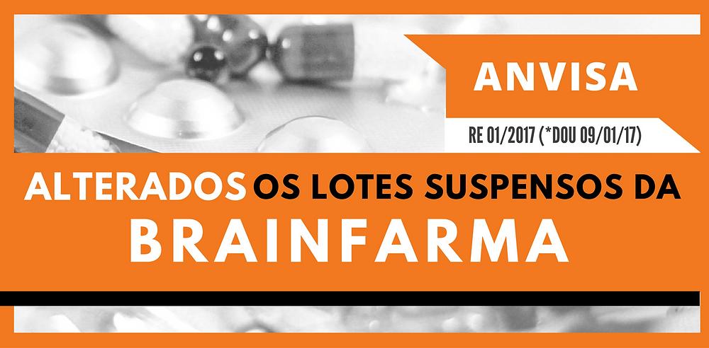 Confira a Lista Atualizada de Lotes Suspensos da Brainfarma | 4Farma Blog