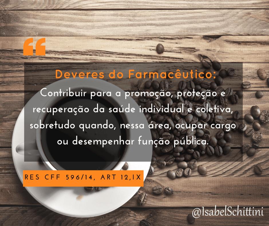 Isabel-schittini-4farma-blog-Código de Ética Farmacêutica-Deveres-Inciso-IX