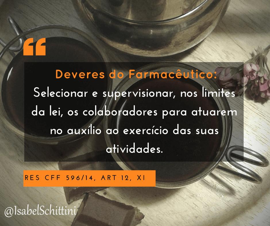 Isabel-schittini-4farma-blog-Código de Ética Farmacêutica-Deveres-Inciso-XI