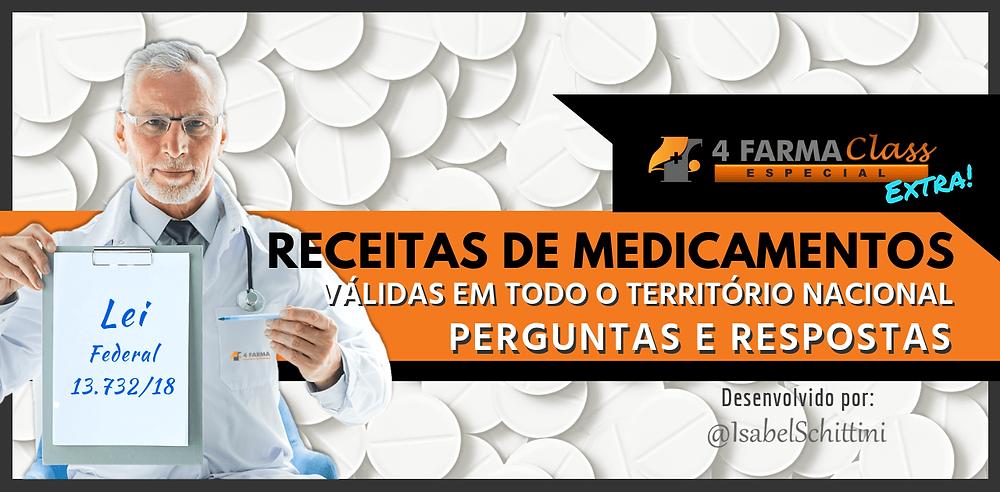 4Farma Class Especial | Validade Nacional de Receitas de Medicamentos | Isabel Schittini