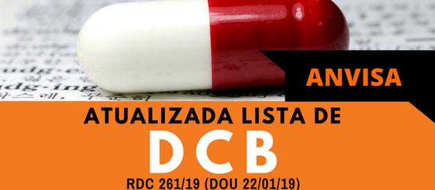 Anvisa Atualiza Lista de DCB