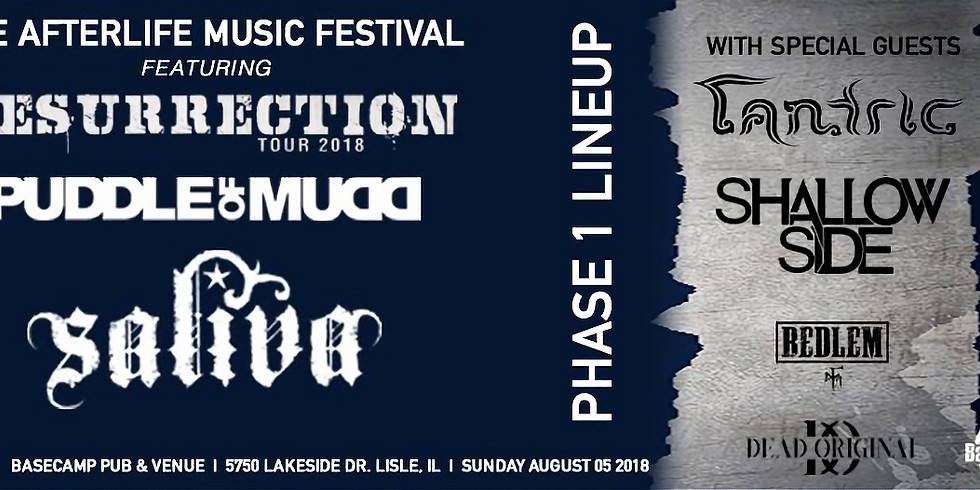 Afterlife Music Festival ft. Puddle Of Mudd, Saliva, Tantric, Dear Deadly...