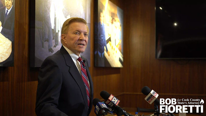 Announcement: Fioretti's candidacy for Cook County State's Attorney