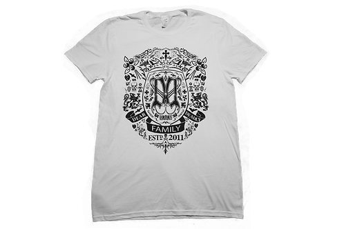 Dear Deadly Crest Shirt White