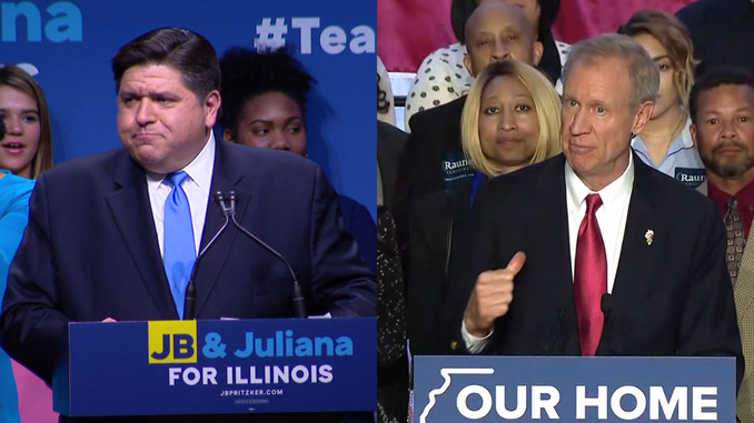 Governor Rauner Trails Pritzker By 15% In Latest Illinois Poll