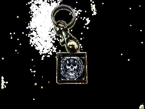 Dear Deadly Unchained Keychain + Sticker