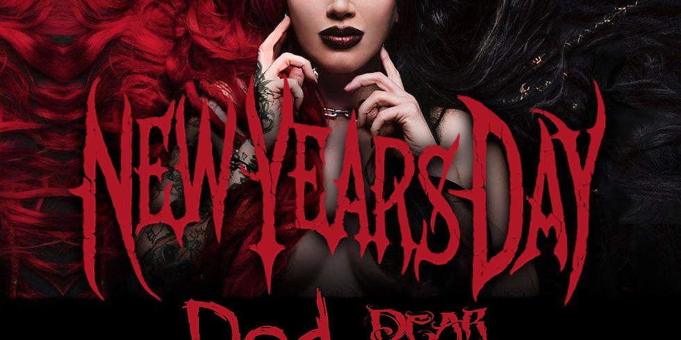 New Years Day, Ded and Dear Deadly at The Forge