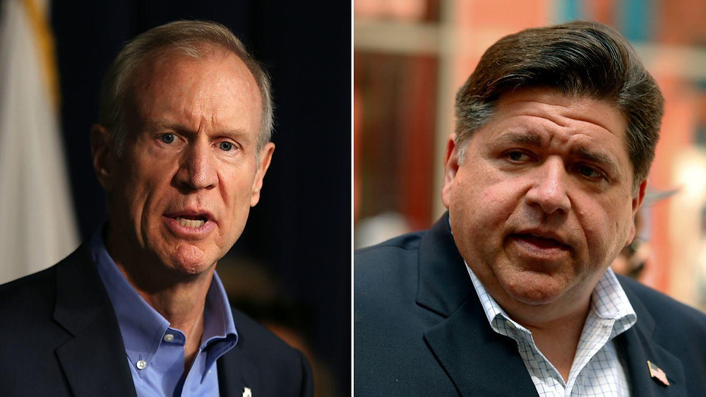 The Illinois Governor's race is heating up between Bruce Rauner and J.B. Pritzker.