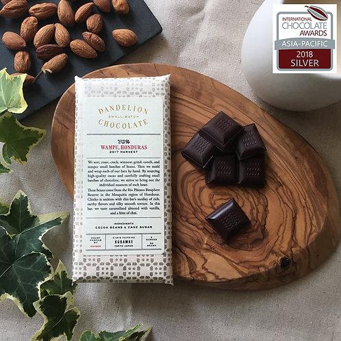 【Dandelion Chocolate】ワンプゥ、ホンジュラス70%