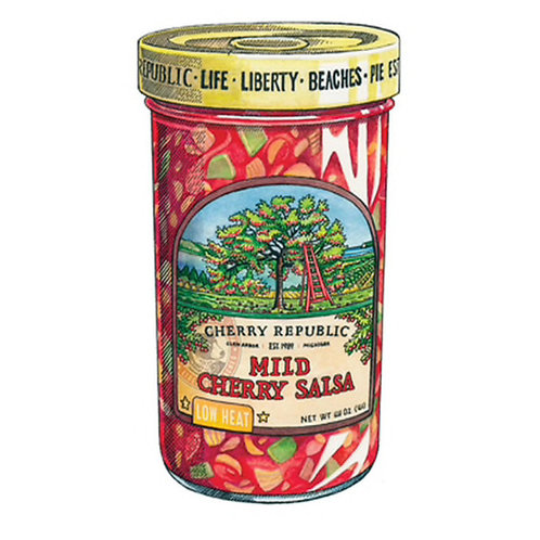 Cherry Republic Mild Cherry Salsa