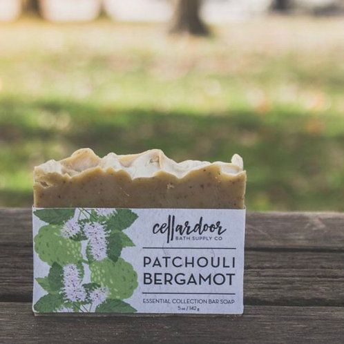 Patchouli Bergamot Bar Soap