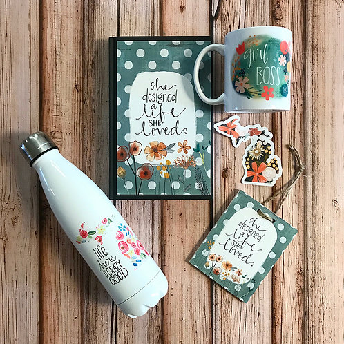 She Designed a Life She Loved (Various Items)