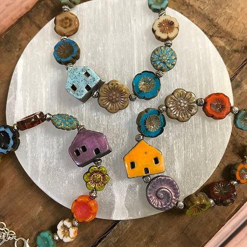 Beaded Home Bracelets