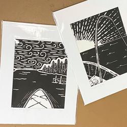 lovely lake prints