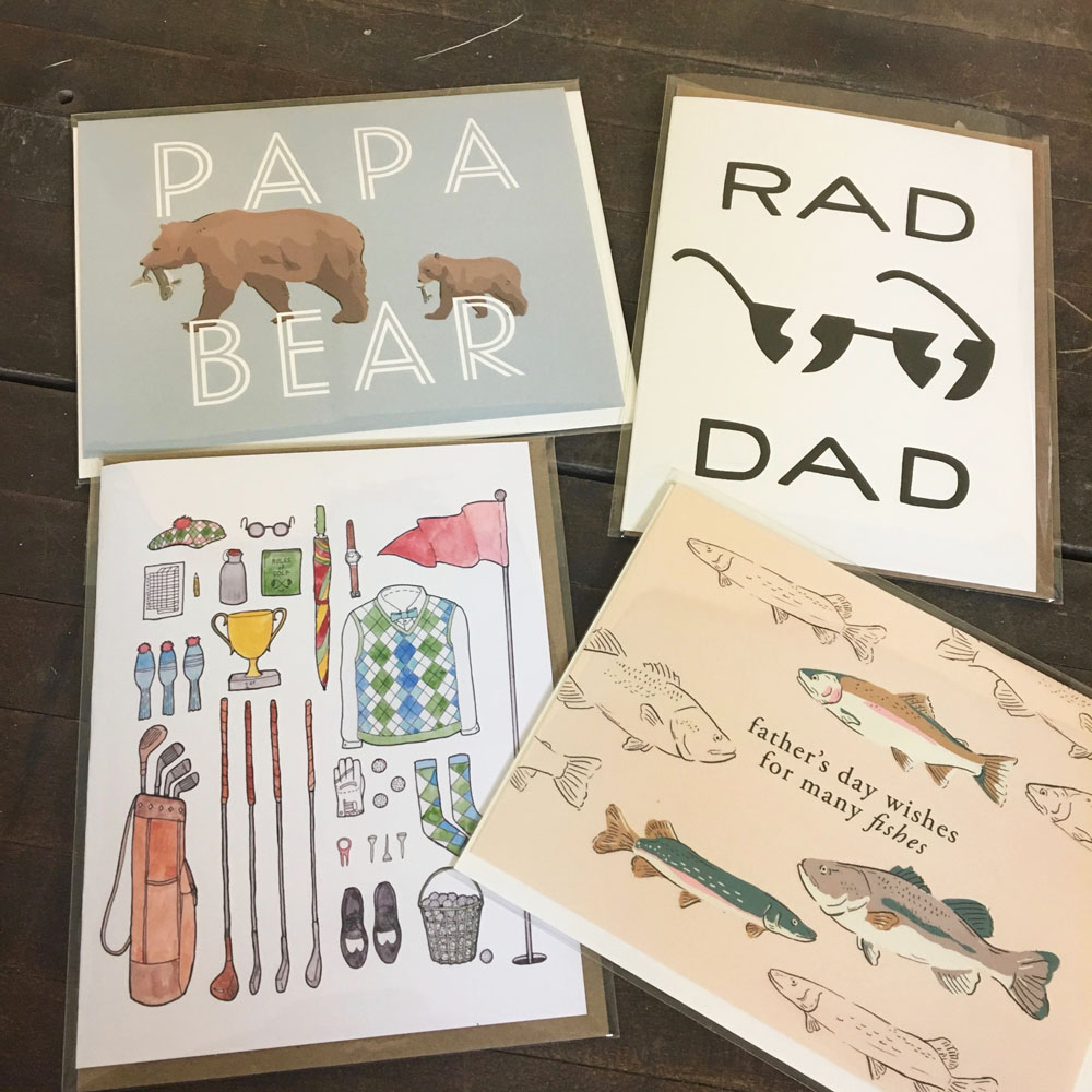 rad cards for dad