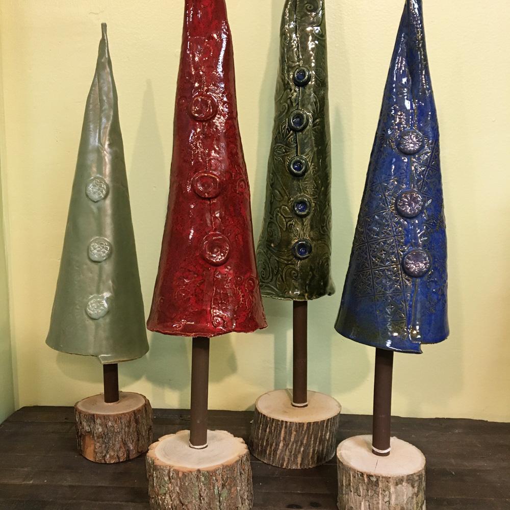 stunning ceramic trees