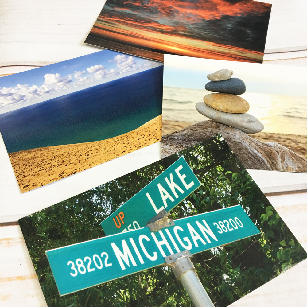 pretty postcards